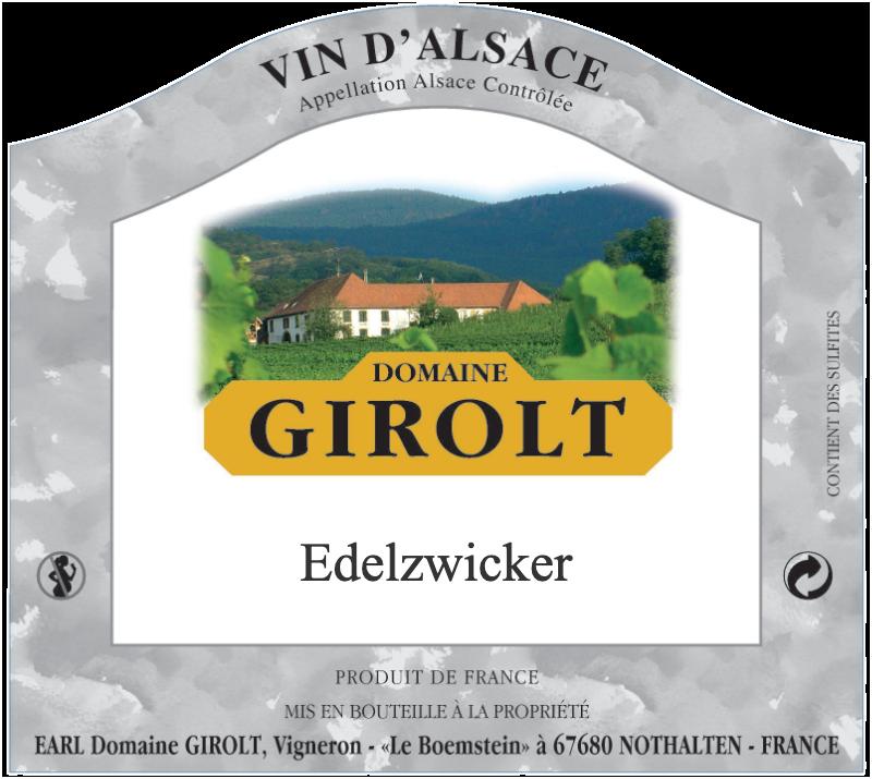 Edelzwicker d'Alsace
