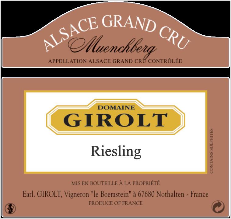 Riesling Grand Cru Muenchberg